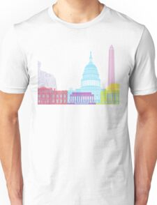 Washington DC skyline pop Unisex T-Shirt