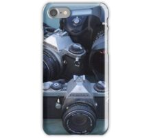 Pentax and Ricoh sharing space iPhone Case/Skin