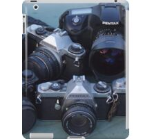 Pentax and Ricoh sharing space iPad Case/Skin