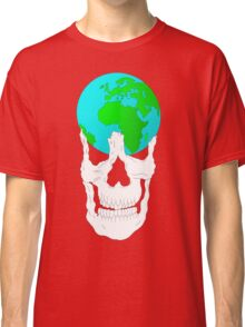 Earth Skull  Classic T-Shirt