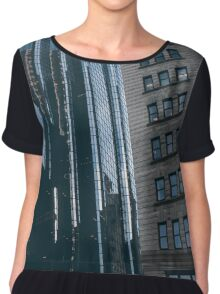Skyscrapers Chiffon Top