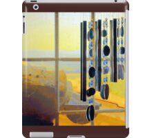 No Wind for Chimes iPad Case/Skin