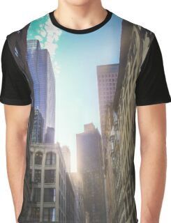 Skyscrapers Boston Graphic T-Shirt