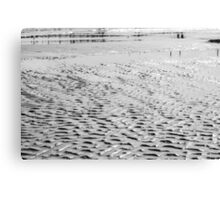 Wet Sand Canvas Print
