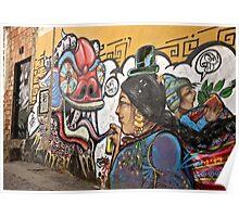 Alley Art Poster