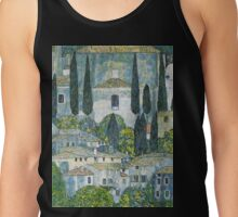 Church in Cassone by Gustav Klimt Tank Top