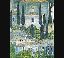 Church in Cassone by Gustav Klimt Tank Top
