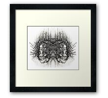 Technology (mirror) Framed Print