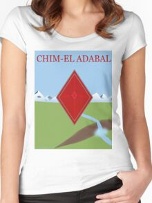 Red Diamond Women's Fitted Scoop T-Shirt