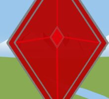 Red Diamond Sticker