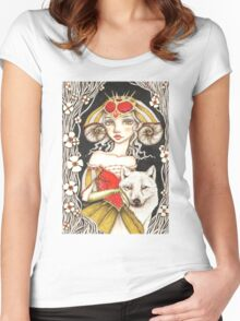 Werewolf Queen Women's Fitted Scoop T-Shirt