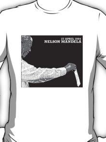 Nelson Mandela's First Vote 1994 Luke T-Shirt