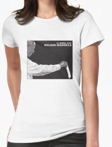 Nelson Mandela's First Vote 1994 Luke Womens Fitted T-Shirt