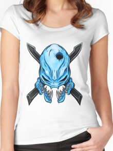 Elite Skull - Halo Legendary Women's Fitted Scoop T-Shirt