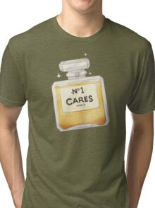 Chanel Parody - no.1 Cares Tri-blend T-Shirt