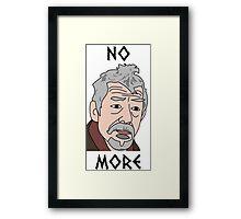 John Hurt War Doctor Who Framed Print
