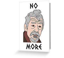 John Hurt War Doctor Who Greeting Card