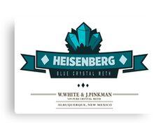 Heisenberg Crystal Meth Walter White Canvas Print