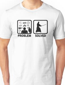 Kendo Problem Solved Unisex T-Shirt