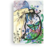 D is for Dalia Canvas Print