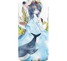 The lady of the sea iPhone Case/Skin