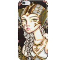 Cyber Lady iPhone Case/Skin