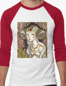 Cyber Lady Men's Baseball ¾ T-Shirt