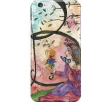 B is for Belle iPhone Case/Skin
