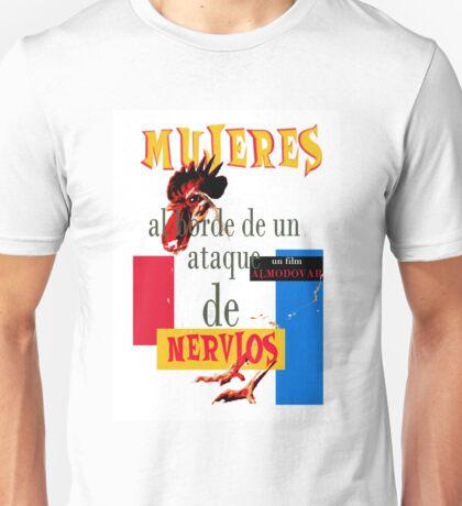 "Almodovar movies: ""Mujeres al borde..."" Unisex T-Shirt"