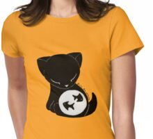 Fishbowl Kitty Womens Fitted T-Shirt