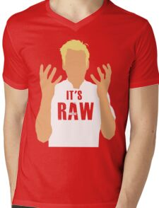 Gordon Ramsay -It's RAW! Mens V-Neck T-Shirt