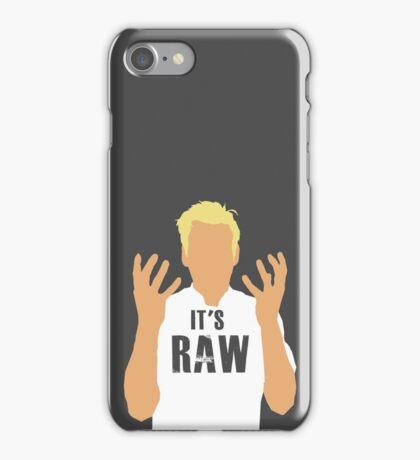 Gordon Ramsay -It's RAW! iPhone Case/Skin