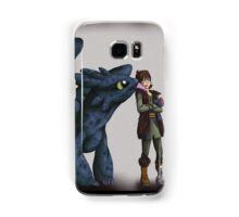 Toothless and Hiccup - HTTYD Samsung Galaxy Case/Skin