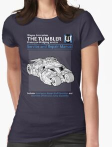Bridging Vehicle Service and Repair Manual Womens Fitted T-Shirt