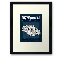 Bridging Vehicle Service and Repair Manual Framed Print