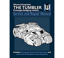 Bridging Vehicle Service and Repair Manual Photographic Print