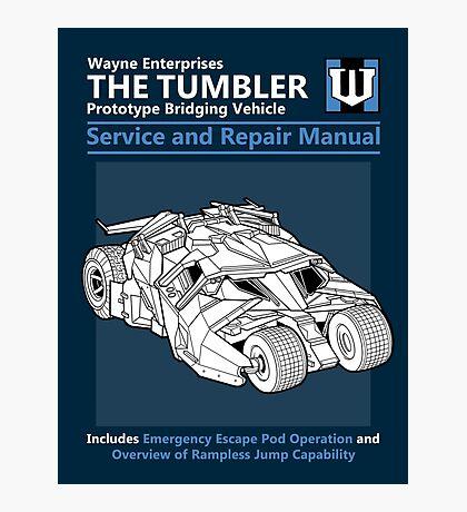 Bridging Vehicle Service and Repair Manual Photographic Print