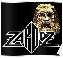 Zardoz mask logo Poster