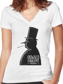 OC Presents Women's Fitted V-Neck T-Shirt
