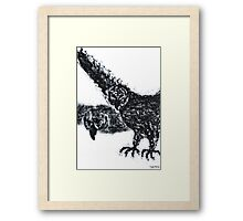 1307 - Birds in the Space Framed Print