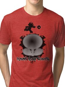 Know Your Roots (Super Mario Bros.) Tri-blend T-Shirt