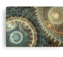 Inside the clock Canvas Print