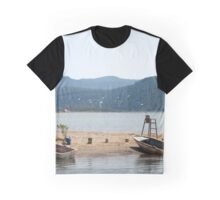The Kite Surfer's Beach Akyaka Turkey Graphic T-Shirt
