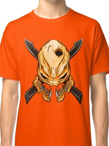 Elite Skull - Halo Legendary Orange Classic T-Shirt
