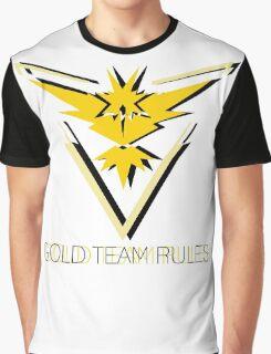 Team Instinct - Gold Team Rules Graphic T-Shirt