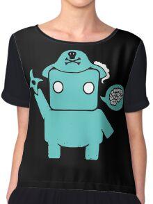 Ninja Pirate Robot Zombie Chiffon Top