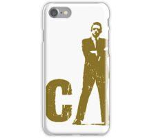 gold silhouette art the legend iPhone Case/Skin