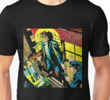 Criminal on a ledge surrounded by Cops Unisex T-Shirt