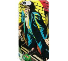 Criminal on a ledge surrounded by Cops iPhone Case/Skin