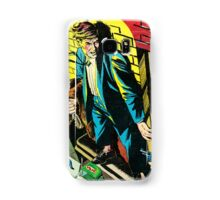 Criminal on a ledge surrounded by Cops Samsung Galaxy Case/Skin